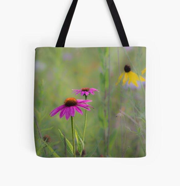 Echinacea  All Over Print Tote Bag