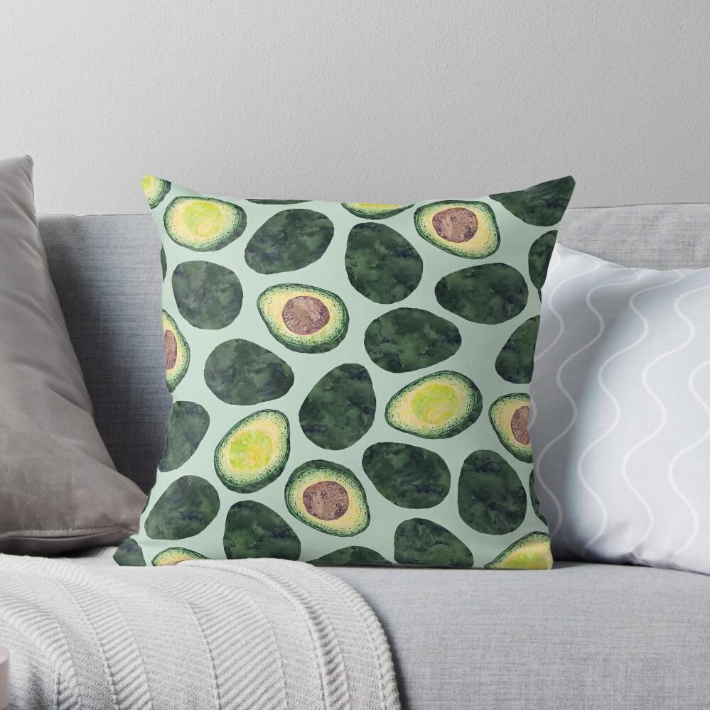 Avocado-Süchtiger Dekokissen