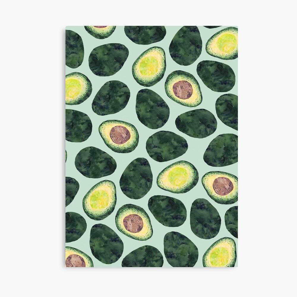 Avocado Addict Canvas Print