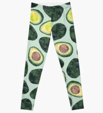 Avocado-Süchtiger Leggings