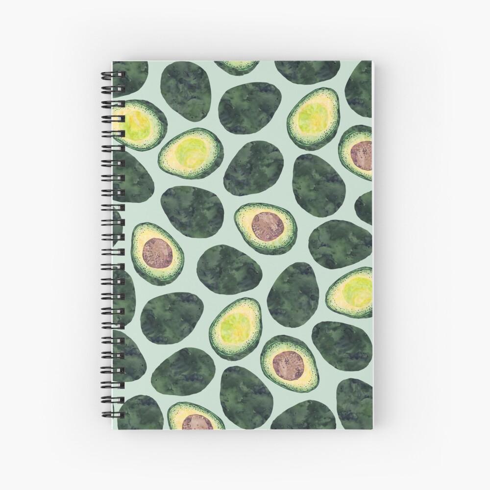 Avocado Addict Spiral Notebook