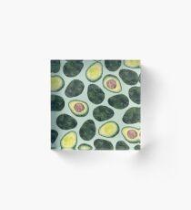 Avocado Addict Acrylic Block