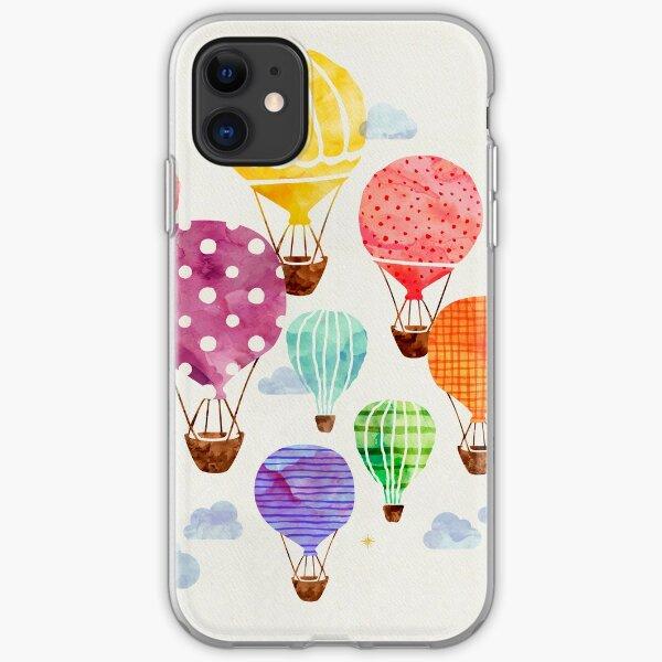 Hot Air Balloon iPhone Soft Case