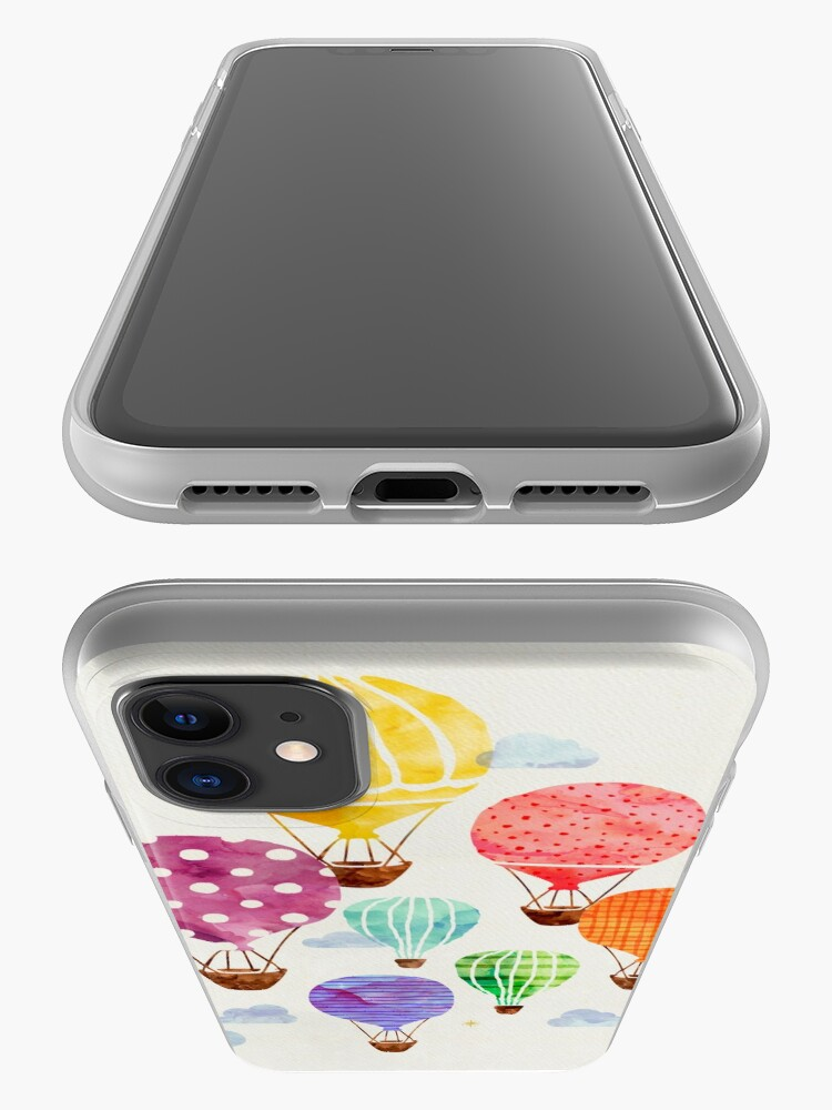 Alternate view of Hot Air Balloon iPhone Case & Cover