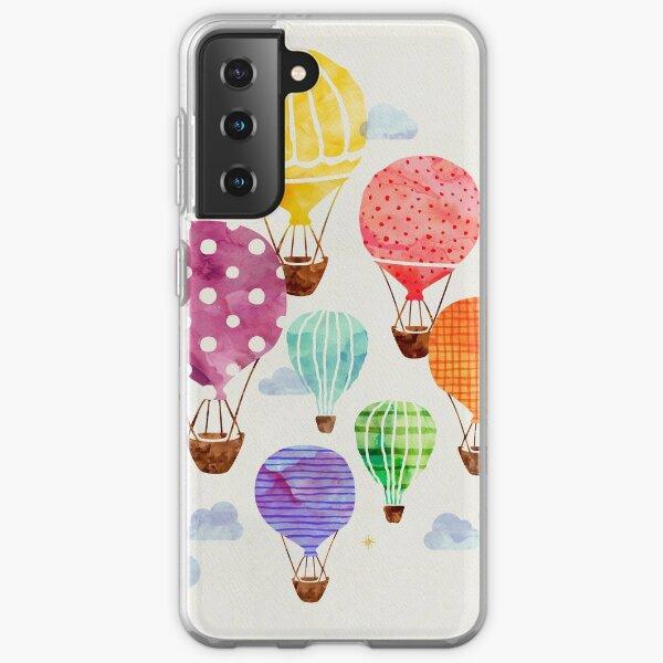 Hot Air Balloon Samsung Galaxy Soft Case