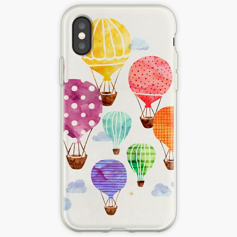 Hot Air Balloon iPhone Cases & Covers