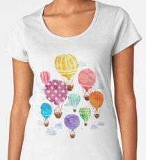 Hot Air Balloon Women's Premium T-Shirt
