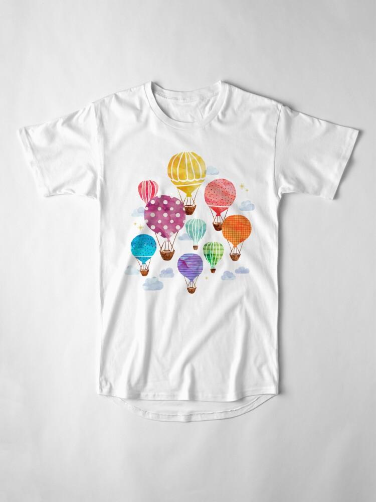 Alternate view of Hot Air Balloon Long T-Shirt