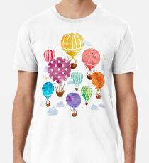 Heißluftballon Männer Premium T-Shirts