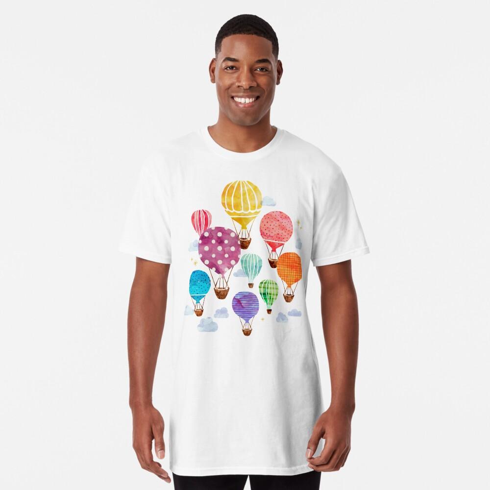 Hot Air Balloon Long T-Shirt