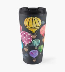 Hot Air Balloon Night Travel Mug