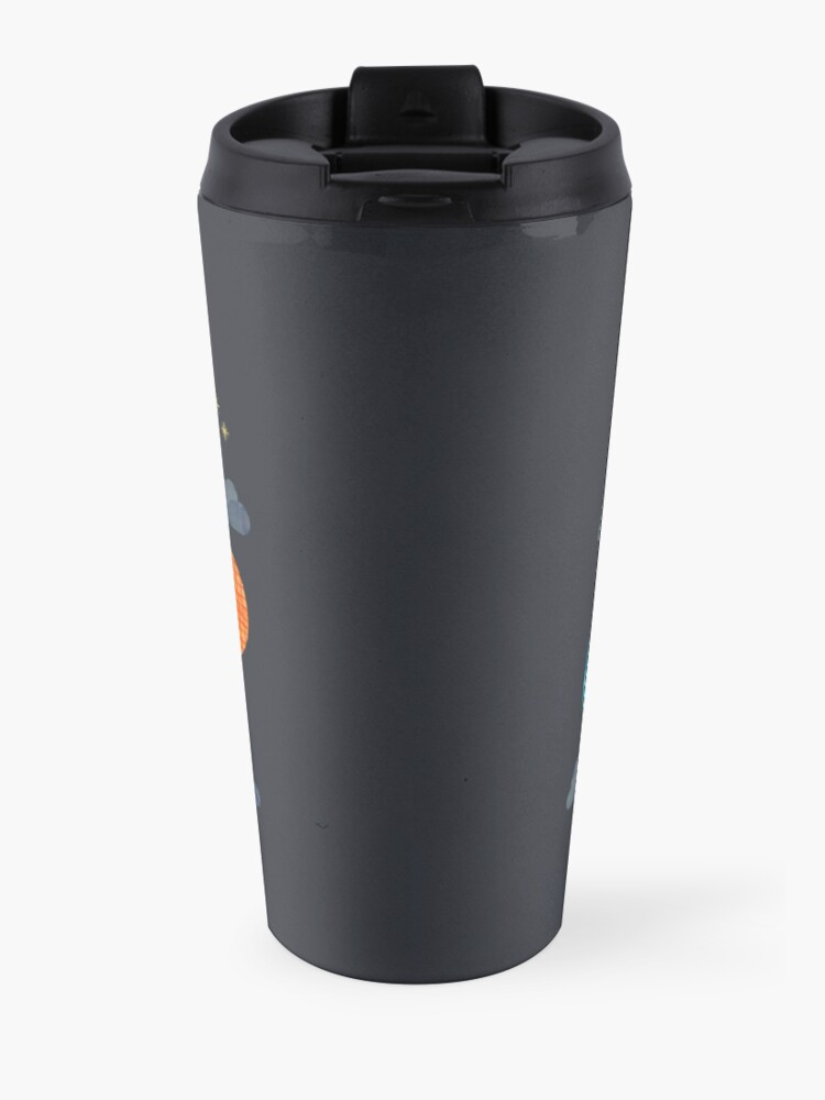 Alternate view of Hot Air Balloon Night Travel Mug