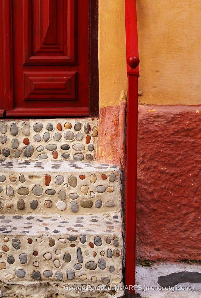 Steps into ochra by George Parapadakis ARPS (monocotylidono)