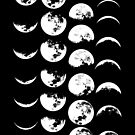 Moon Phases No. 2 by wolfandbird