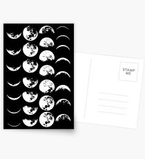 Moon Phases No. 2 Postcards