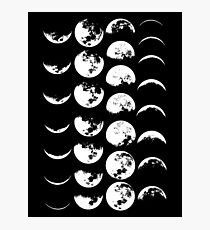 Moon Phases No. 2 Photographic Print