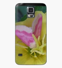 Butterfly on Flower Case/Skin for Samsung Galaxy
