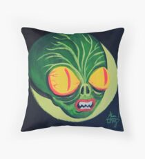 Space Guy Throw Pillow