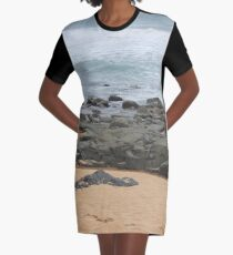 It was love at first sight... the day I met The Beach Graphic T-Shirt Dress