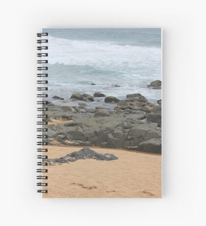 It was love at first sight... the day I met The Beach Spiral Notebook
