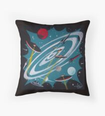 Space Hole Throw Pillow