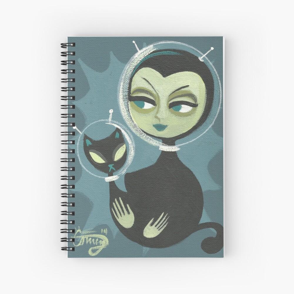 Martian Beauty Spiral Notebook