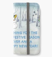 Wishing you the Best Festive Season ever! iPhone Wallet/Case/Skin