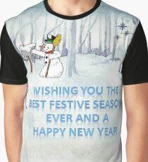 Wishing you the Best Festive Season ever! Graphic T-Shirt