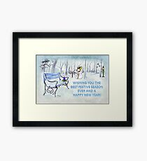 Wishing you the Best Festive Season ever! Framed Print