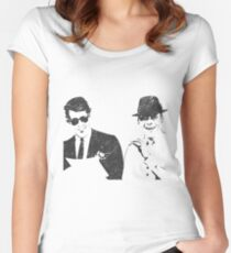 sinatra  Women's Fitted Scoop T-Shirt