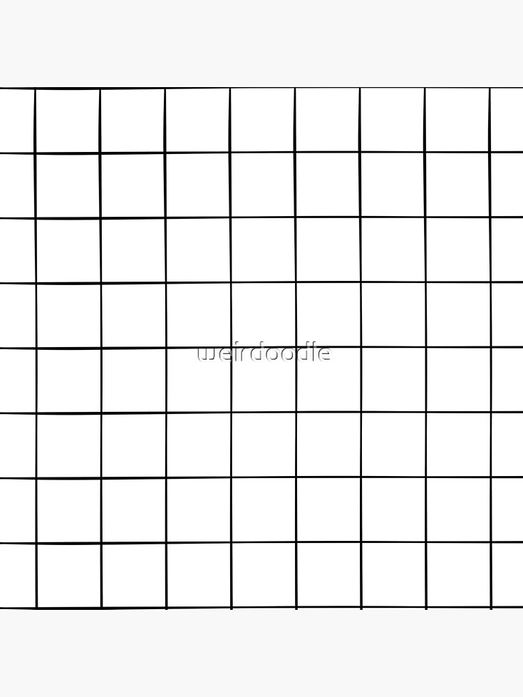 White Grid by weirdoodle