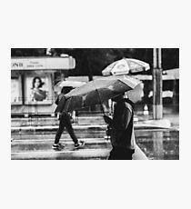 Rainy Day in SP Photographic Print