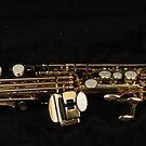 Soprano Sax - Side View von BlueMoonRose