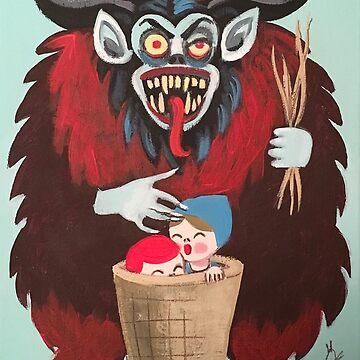 Merry Freakin' KRAMPUS! by elgatogomez