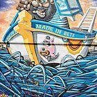 Street Art with a Nautical Theme by JohnKarmouche