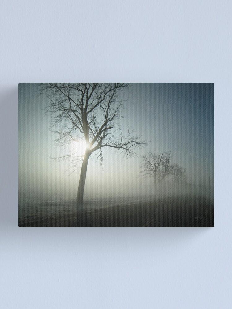 Alternate view of Winter Fog Canvas Print