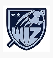 Sporting KC Sticker Photographic Print