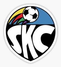Sporting KC Retro Sticker Sticker