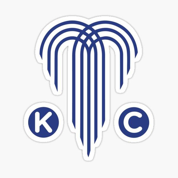 Kansas City - The City of Fountains Sticker