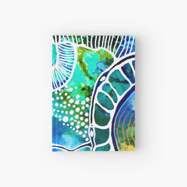 I'd Like To Be Under The  Sea Hardcover Journal