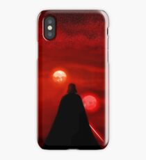 Star Wars Darth Vader Tatooine Sunset  iPhone Case/Skin