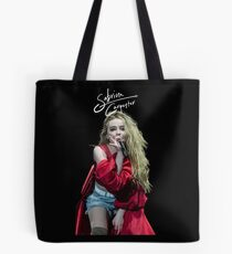 Sabrina Carpenter in CONCERT Tote Bag