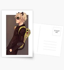 Chat Noir Postcards