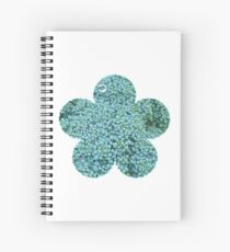 Green Broccoli Florets Spiral Notebook