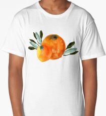 Sonnige Orange Long T-Shirt