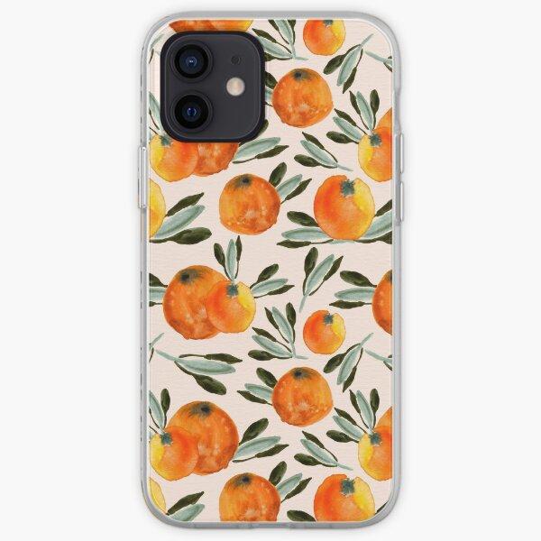 Sunny orange iPhone Soft Case