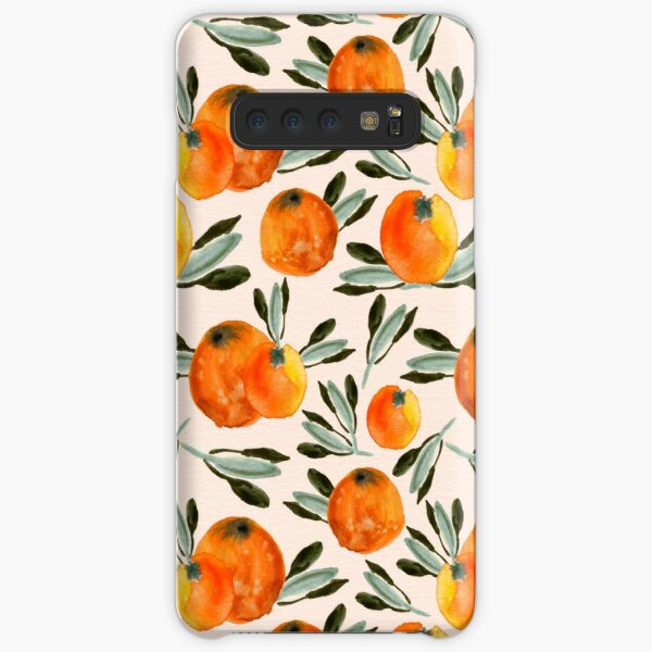 Sunny orange Samsung Galaxy Snap Case