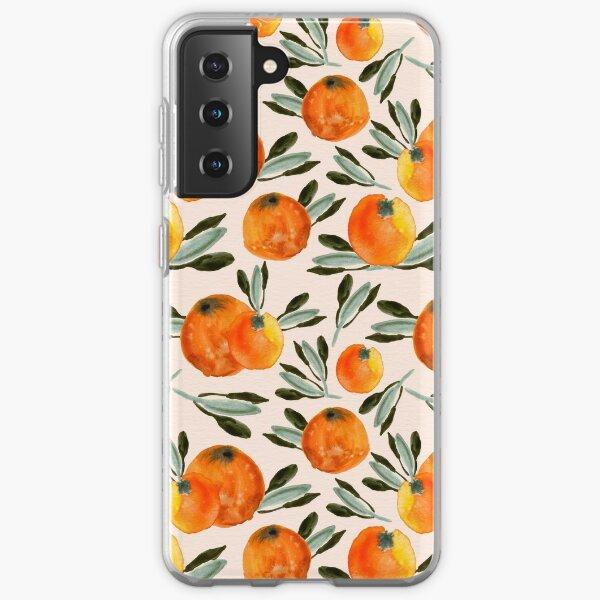 Sunny orange Samsung Galaxy Soft Case