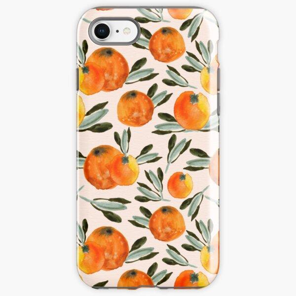 Sunny orange iPhone Tough Case