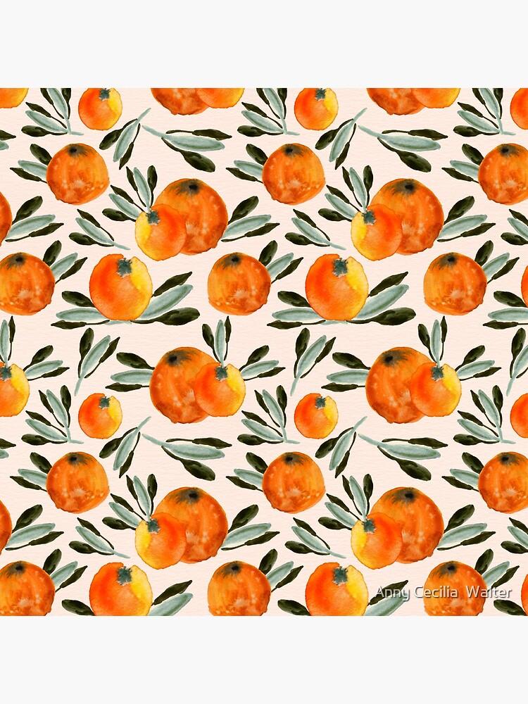 Sonnige Orange von AnnyCeciliaWalt